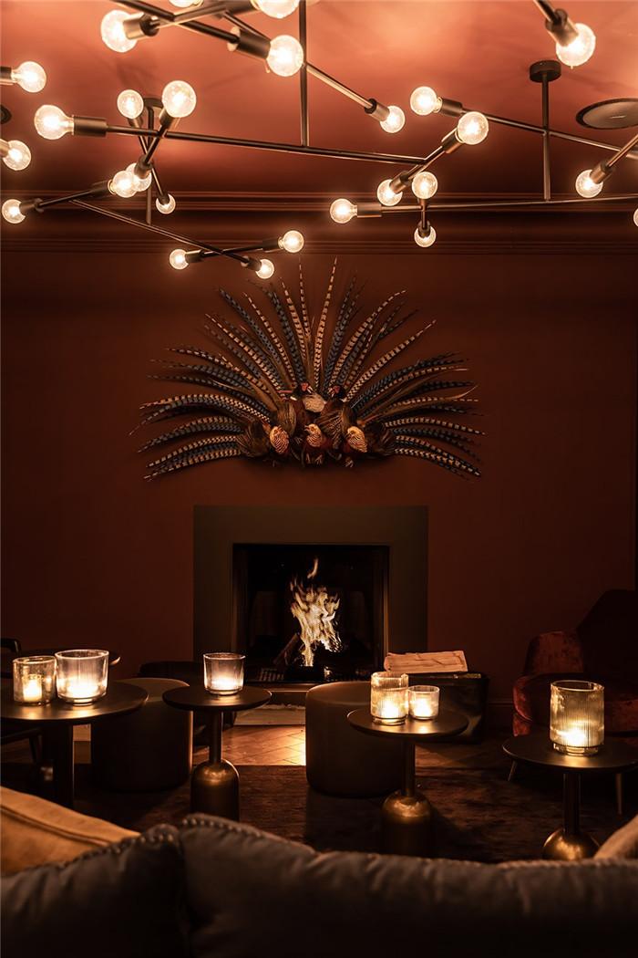 国外高端精品酒店设计推荐:Vignée庄园酒店大堂吧设计