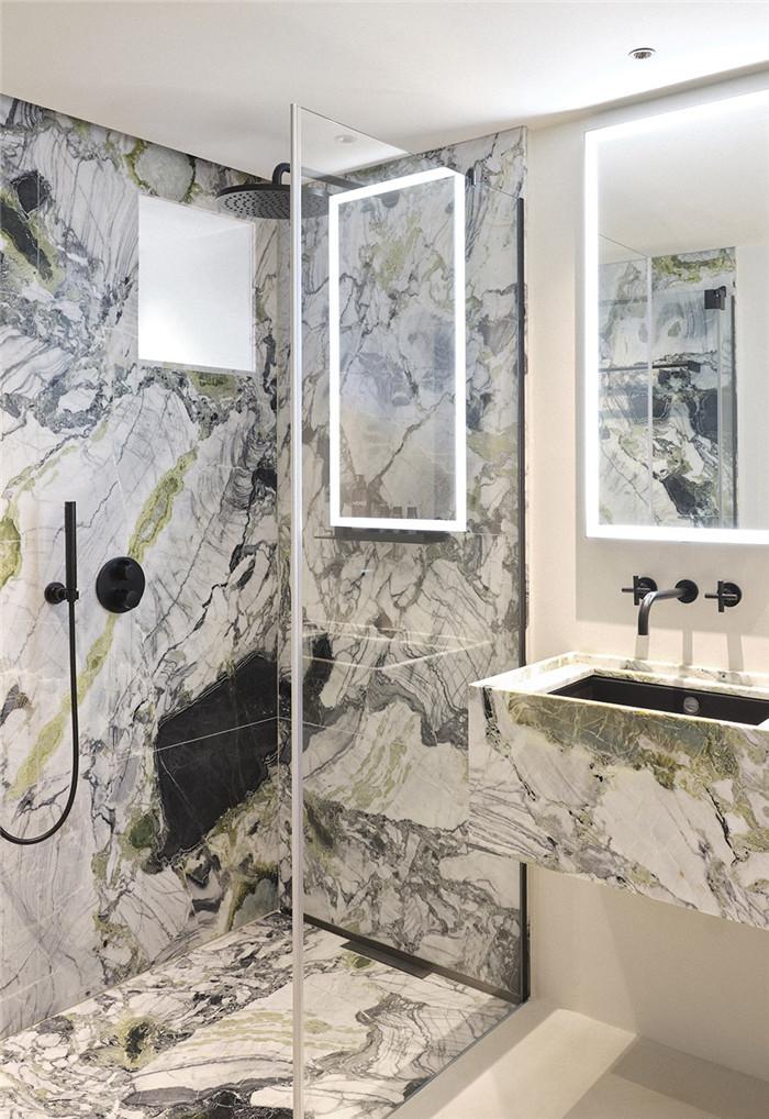国外高端精品酒店设计推荐:Vignée庄园酒店客房卫生间设计