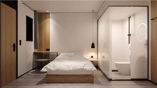 专注于90后的微精品连锁酒店设计:青季酒店MINI客房设计