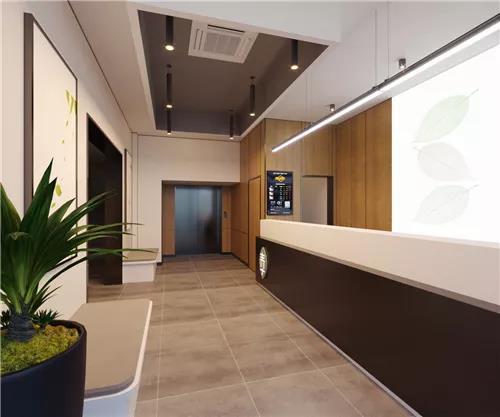 专注于90后的微精品连锁酒店设计:青季酒店MINI前台设计