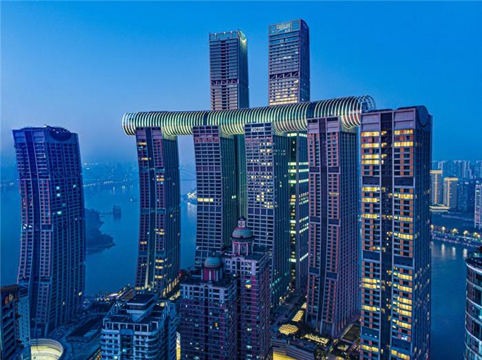 重庆来福士洲际酒店大堂设计&住宅俱乐部设计赏析