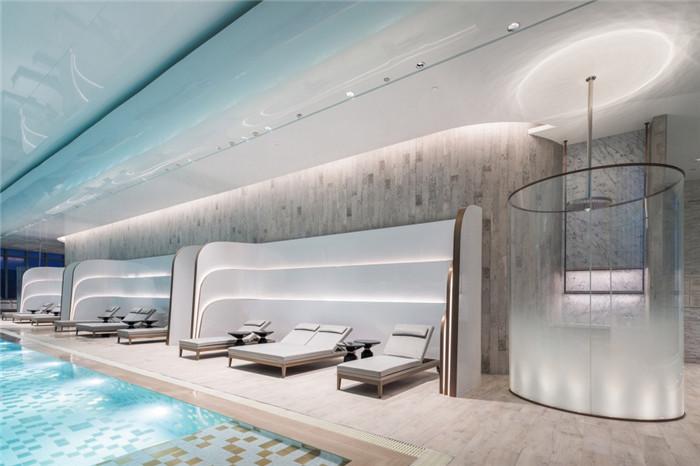 重庆来福士洲际酒店泳池设计方案