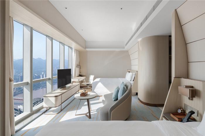 重庆来福士洲际酒店客房设计方案