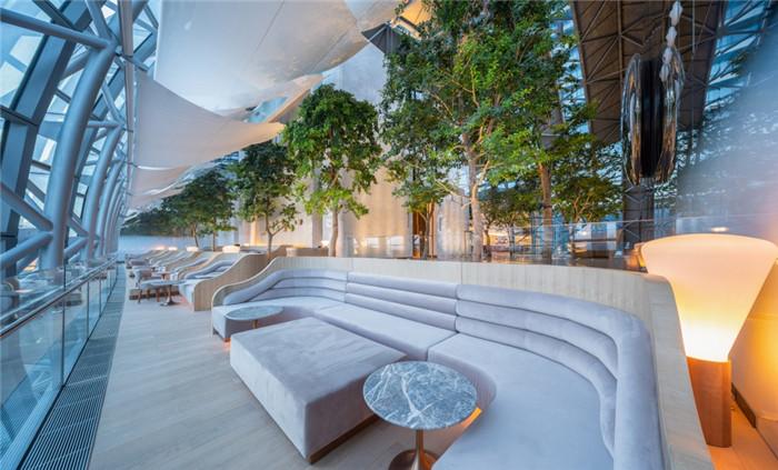 重庆来福士洲际酒店大堂吧设计方案