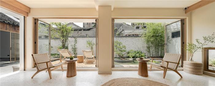 特色小微精品酒店设计推荐:苏州东花里精品酒店接待大厅设计