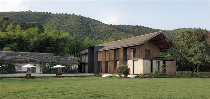 冷静又克制   玫瑰庄园反传统精品度假酒店建筑外观设计方案
