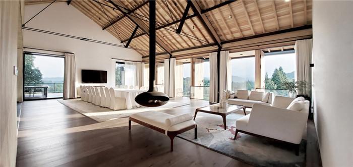 冷静又克制   玫瑰庄园反传统精品度假酒店会议室设计方案