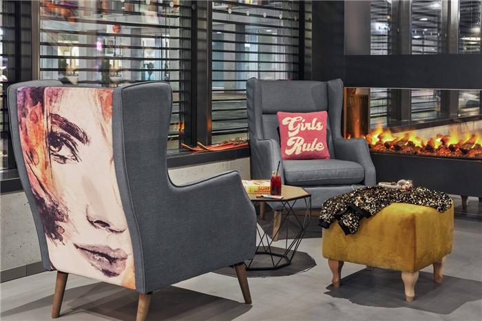 瑞士Moxy酒店设计  小而美的潮牌精品酒店设计鼻祖
