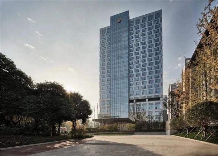 看东西方文化交融  西安洲际国际标准五星级酒店建筑外观设计