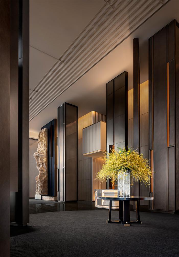 看东西方文化交融  西安洲际国际标准五星级酒店大堂设计