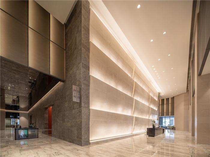 知名设计公司CL3新作:重庆洲际洲际酒店电梯厅设计