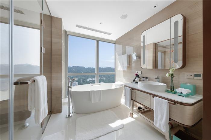 知名设计公司CL3新作:重庆洲际洲际酒店客房卫生间设计