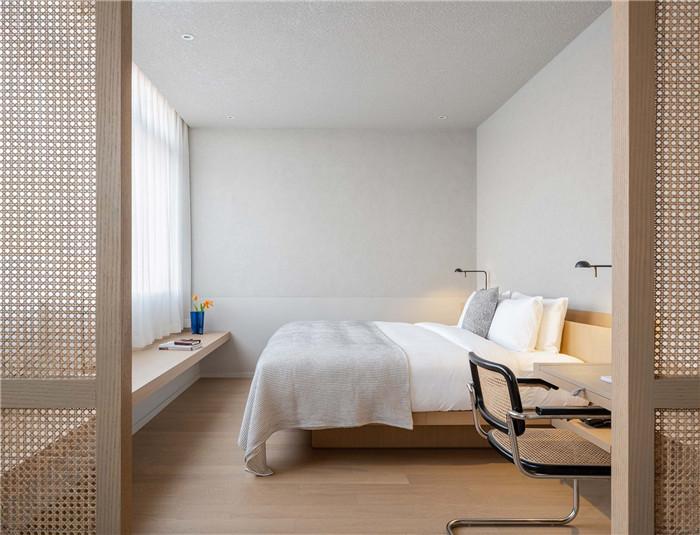 客房设计-念念行旅  一个主打阅读的小型精品酒店设计案例