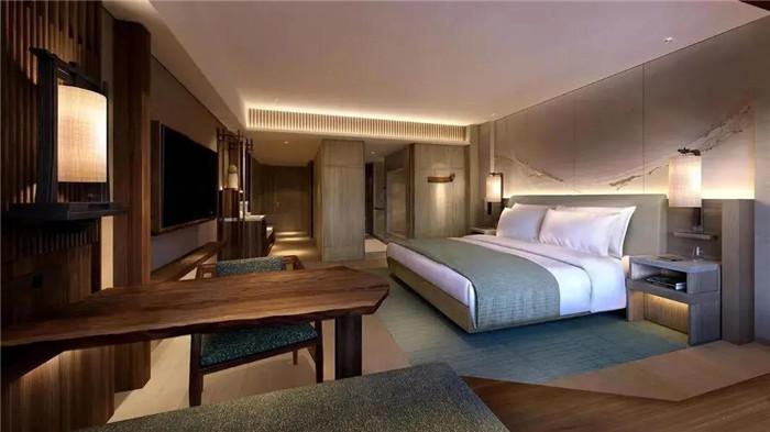 京都三井豪华精选酒店及水疗中心设计-酒店客房设计