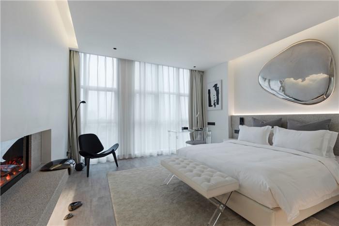 精品酒店客房设计图-以水为灵感的都市网红精品酒店设计方案