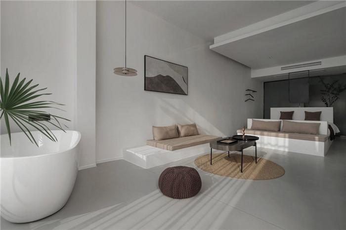 民宿客房设计-极简质朴的民宿酒店设计  只有8间客房也美呆了!