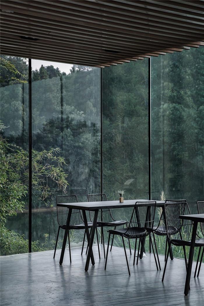 民宿餐厅设计-极简质朴的民宿酒店设计  只有8间客房也美呆了!