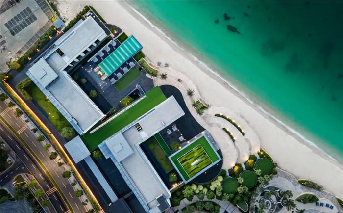 酒店鸟瞰图-深圳大梅沙临海精品酒店设计   回归自然人文之美