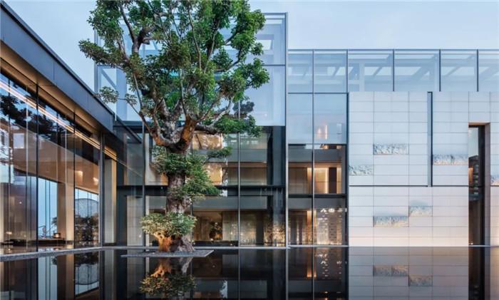 酒店庭院景观设计-深圳大梅沙临海精品酒店设计   回归自然人文之美