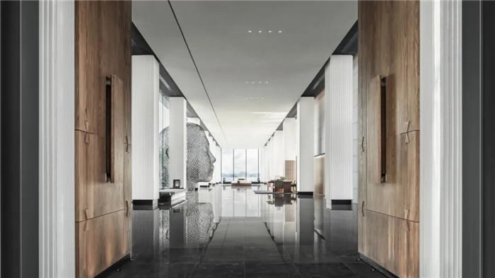 酒店接待大厅设计-深圳大梅沙临海精品酒店设计   回归自然人文之美