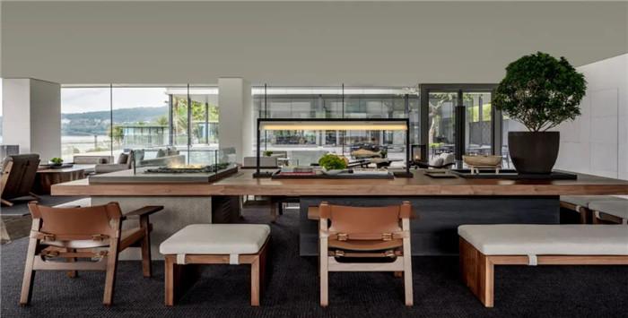 酒店餐厅设计-深圳大梅沙临海精品酒店设计   回归自然人文之美