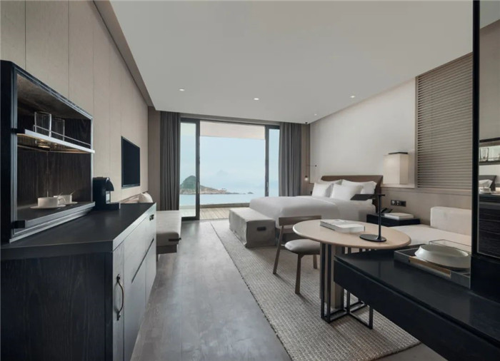 酒店客房设计-深圳大梅沙临海精品酒店设计   回归自然人文之美