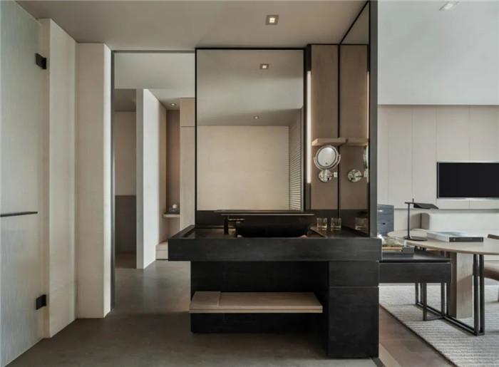 酒店客房卫生间设计-深圳大梅沙临海精品酒店设计   回归自然人文之美
