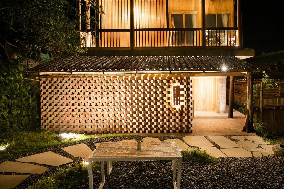 乡村民宿建筑外观设计图