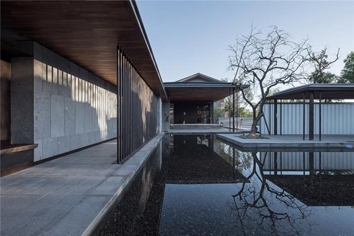 将西溪湿地美态融入室内的杭州木守度假酒店设计方案