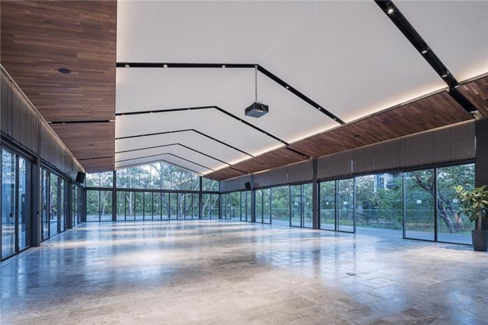 将西溪湿地美态融入室内的杭州木守度假酒店宴会厅设计