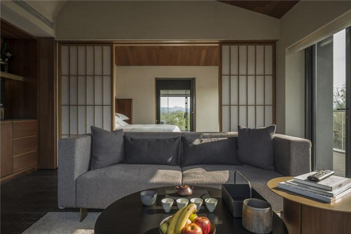将西溪湿地美态融入室内的杭州木守度假酒店客房设计