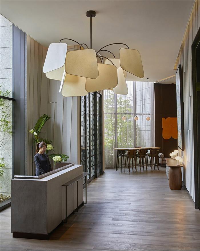 日本最新精品酒店设计:东京Kimpton酒店大堂设计赏析