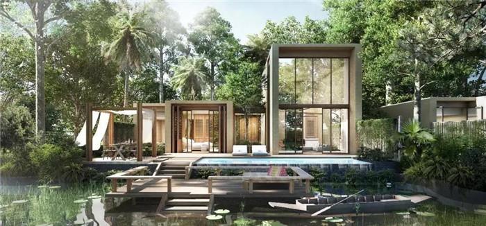 泰国象岛嘉富澈笛度假酒店设计
