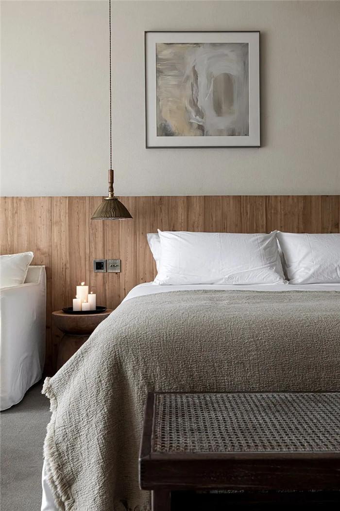 民宿客房设计-回归山野的纯白极简风精品民宿装修设计方案