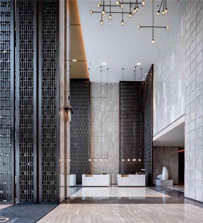 酒店大堂设计-现代手法演绎西蜀风情  四川首家万怡酒店设计赏析