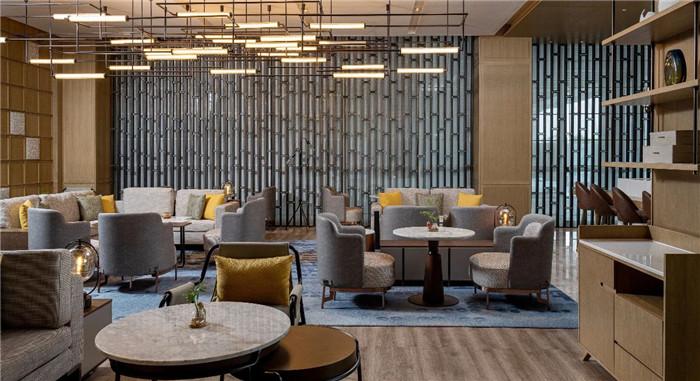 酒店大堂吧设计-现代手法演绎西蜀风情  四川首家万怡酒店设计赏析