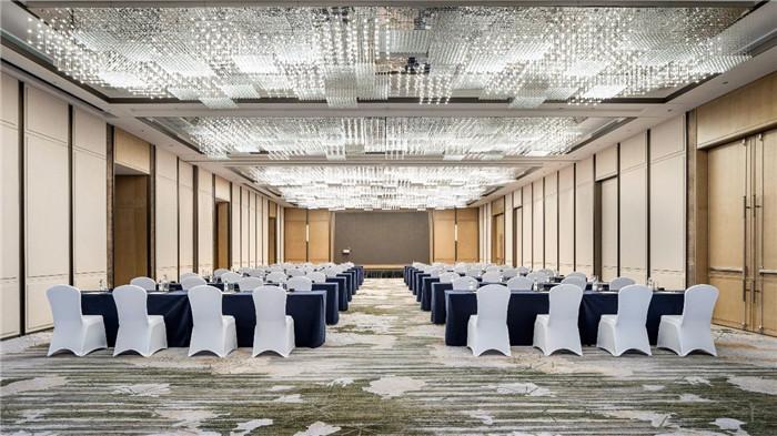 酒店宴会厅设计-现代手法演绎西蜀风情  四川首家万怡酒店设计赏析