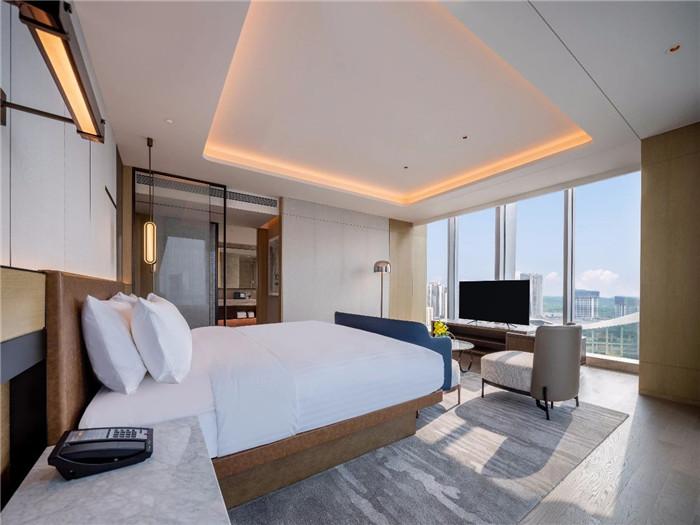 酒店客房设计-现代手法演绎西蜀风情  四川首家万怡酒店设计赏析