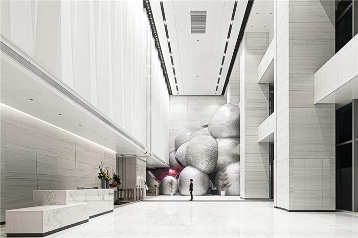 国内最新潮艺术精品酒店设计推荐:尚美水晶酒店大堂设计