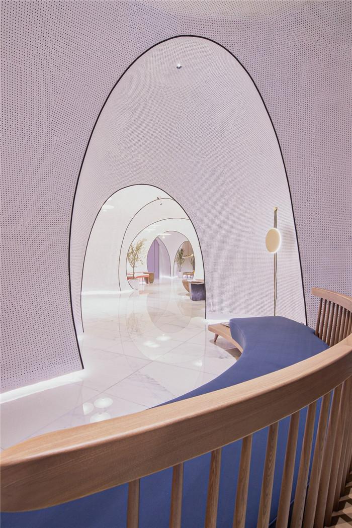 国内最新潮艺术精品酒店设计推荐:尚美水晶酒店室内设计方案