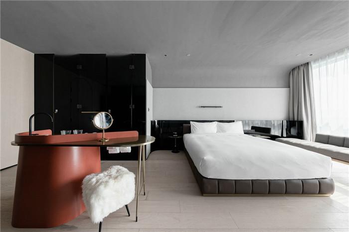 国内最新潮艺术精品酒店设计推荐:尚美水晶酒店客房设计