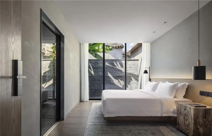酒店客房设计-集书店、咖啡、美术馆于一体的精品酒店设计方案