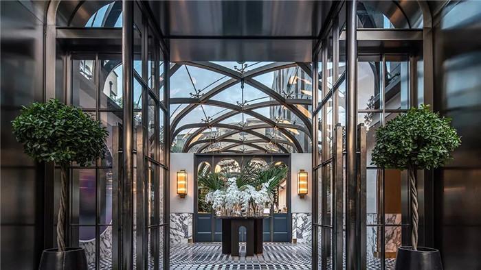 酒店大厅改造设计-Art Deco复古怀旧风音乐主题精品酒店设计案例