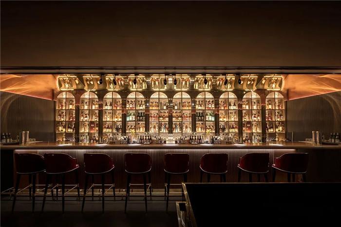酒店内部酒吧设计-Art Deco复古怀旧风音乐主题精品酒店设计案例