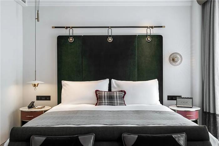 Art Deco复古怀旧风音乐主题精品酒店设计案例