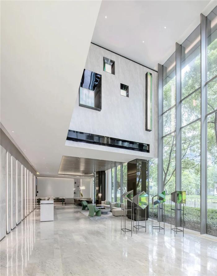 酒店大堂设计-经久不衰的现代简约风CRYSTAL ORANGE酒店设计