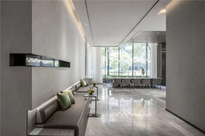 酒店公共区域设计-经久不衰的现代简约风CRYSTAL ORANGE酒店设计