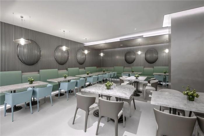 酒店餐厅设计-经久不衰的现代简约风CRYSTAL ORANGE酒店设计