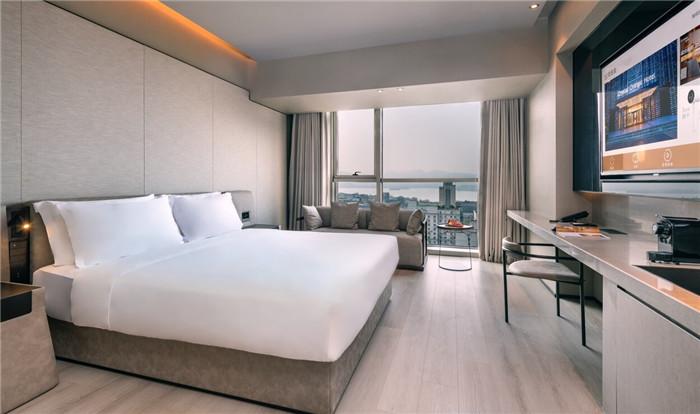 酒店客房设计-经久不衰的现代简约风CRYSTAL ORANGE酒店设计