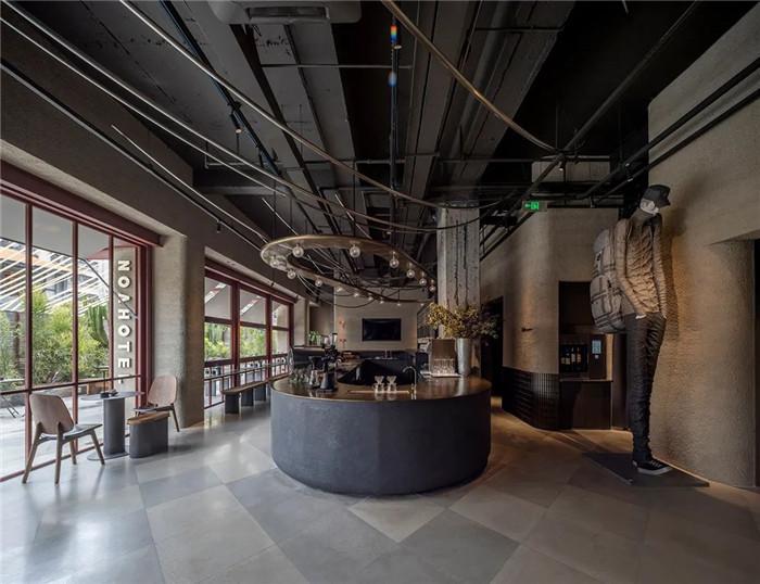 最新精品设计师酒店推荐:厦门NOA诺亚酒店大堂设计方案